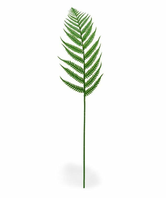 Umelá vetva Papraď lesná 60 cm