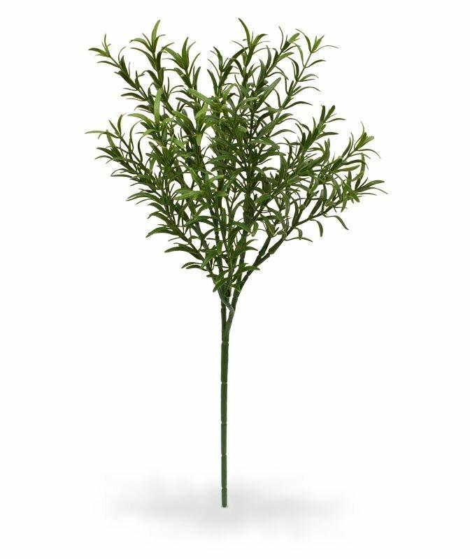 Umělá rozmarýnová větev 40 cm