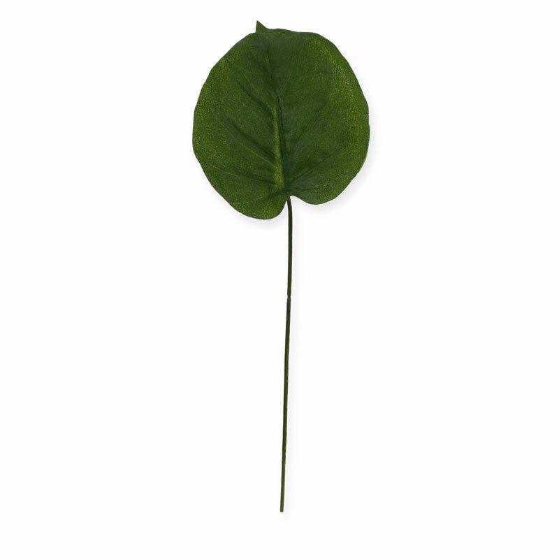 Umělý list Filodendron 20 cm