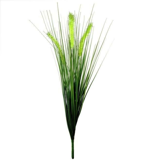 Umelá dekoračná tráva - zväzok 50 cm