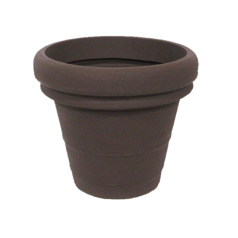 Moderní květináč Cappuccino 30x25 cm