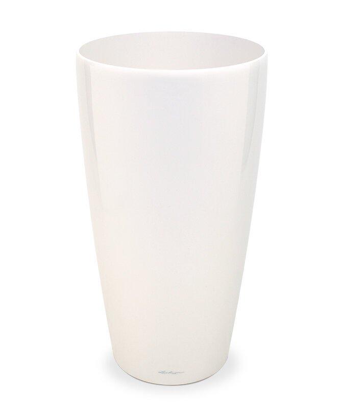 Květináč Lechuza Rondo 40x75 cm - bílý