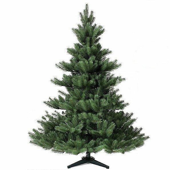 Umelý vianočný stromček Jedľa Nordmann Alnwick 150 cm