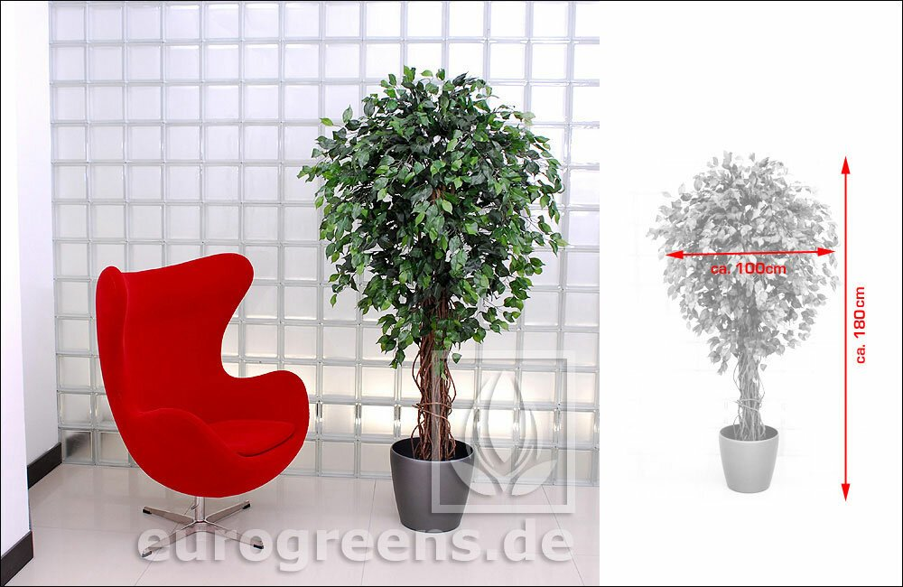 Umelá rastlina Fikus Liane 180 cm