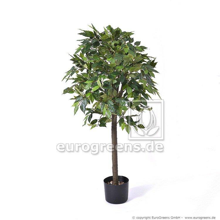 Umělý nefritový zelený Ficus 90 cm