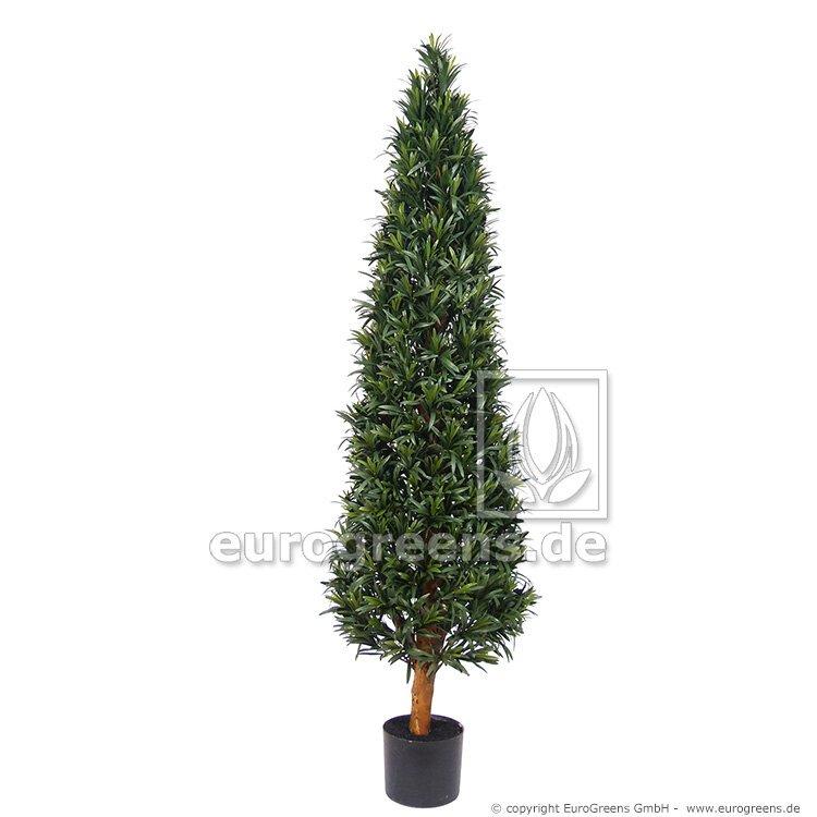 Umelý strom Podocarpus kužeľ 140 cm