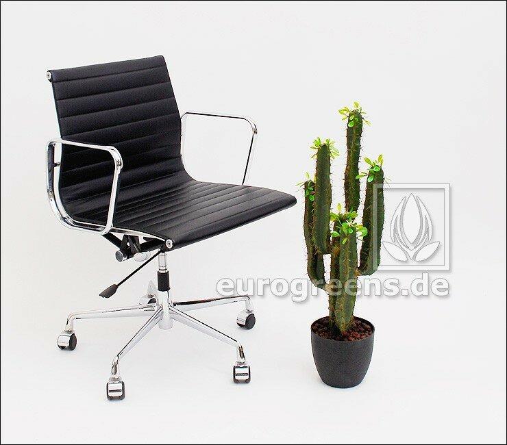 Umělý kaktus Euphorbia Trigona 75 cm