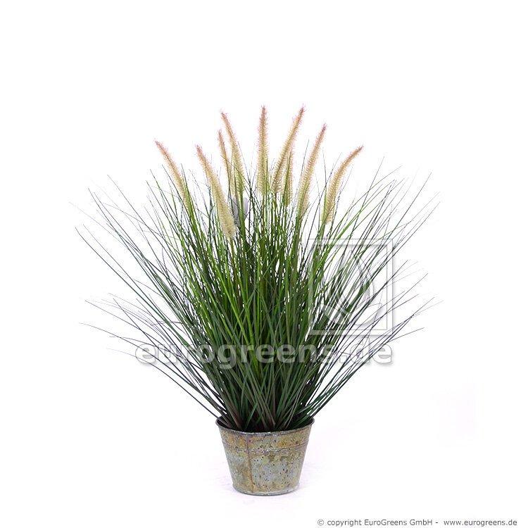 Umělá tráva Pennisetum - dochan s květináčem 100 cm