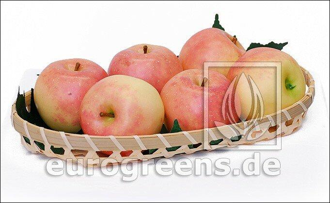 Umelé jablko - svetločervené
