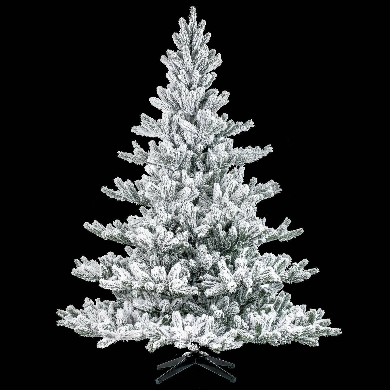 Umelý vianočný stromček Jedľa Nordmann Alnwick 180 cm zasnežený
