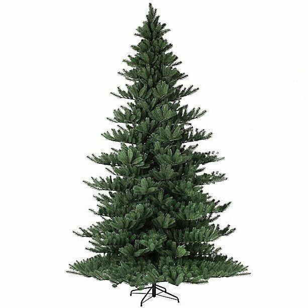 Umělý vánoční stromek Jedle Nordmann Alnwick 330 cm