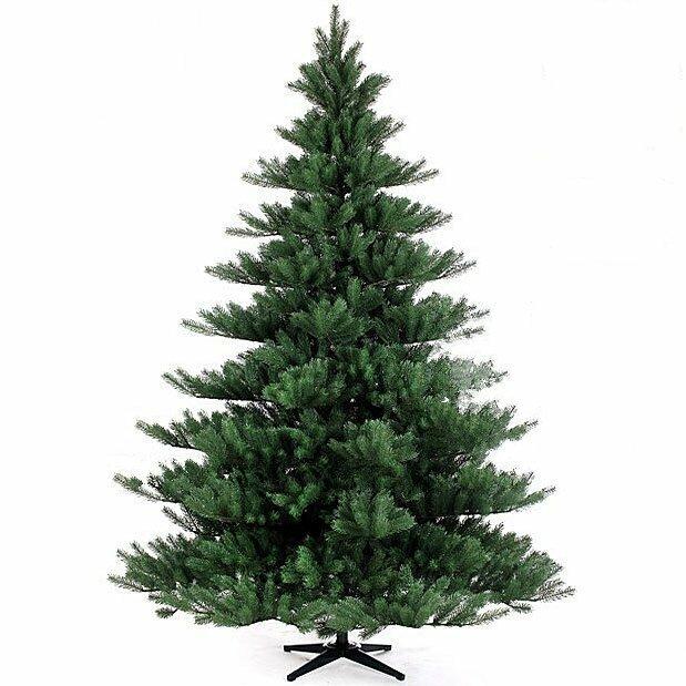Umelý vianočný stromček Jedľa Nordmann Alnwick 210 cm