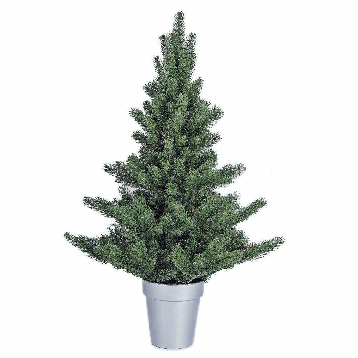 Umelý vianočný stromček Jedľa Nordmann Alnwick 90cm