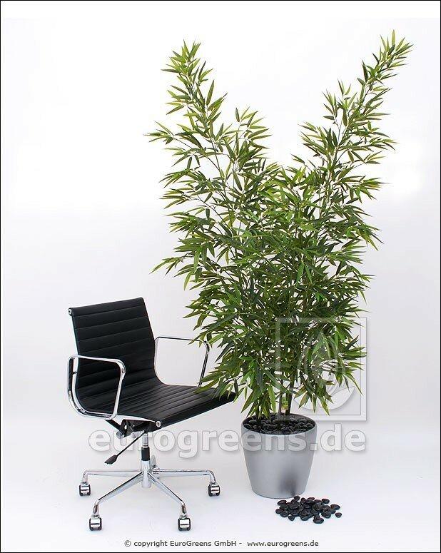 Umělá rostlina Bambus - set tří stonků bambusu