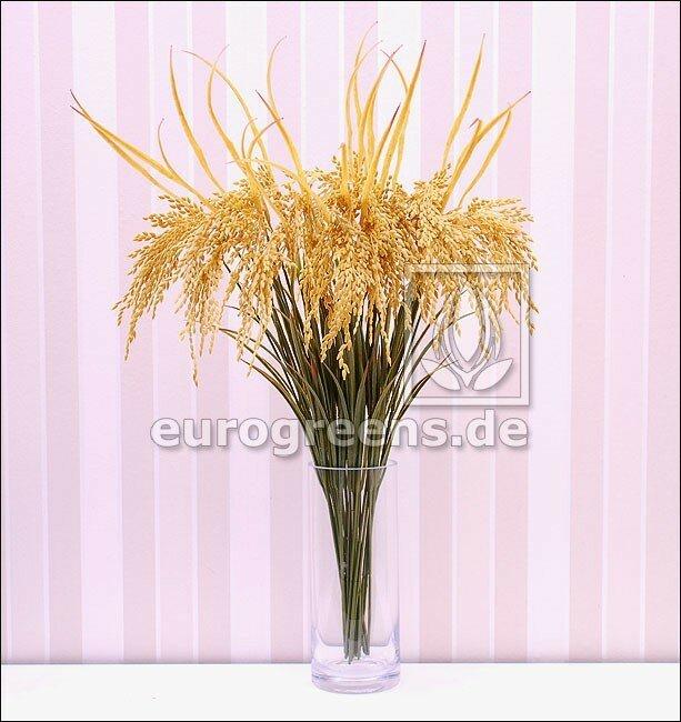 Umelá ryžová vetva 75 cm