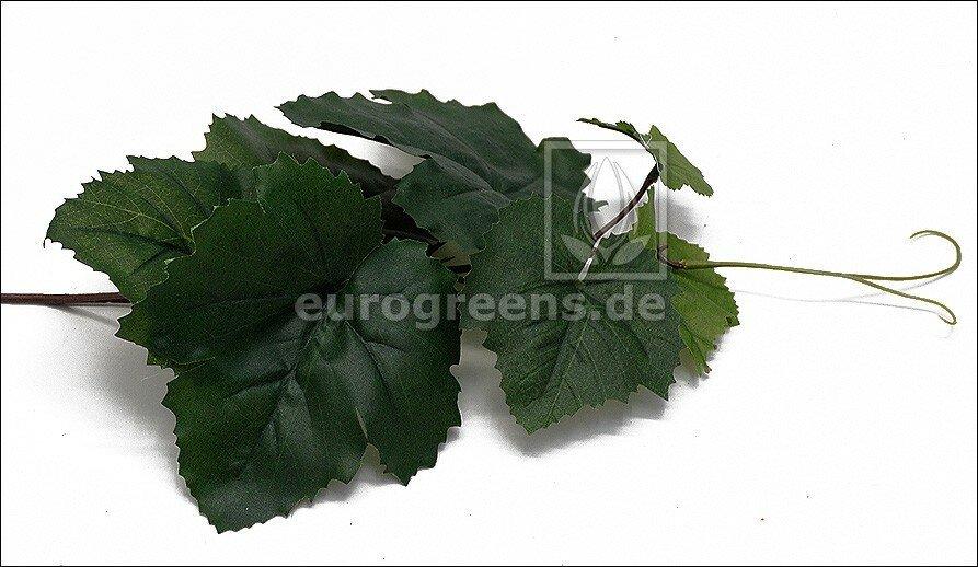 Umelá vetva Vínna réva 30 cm