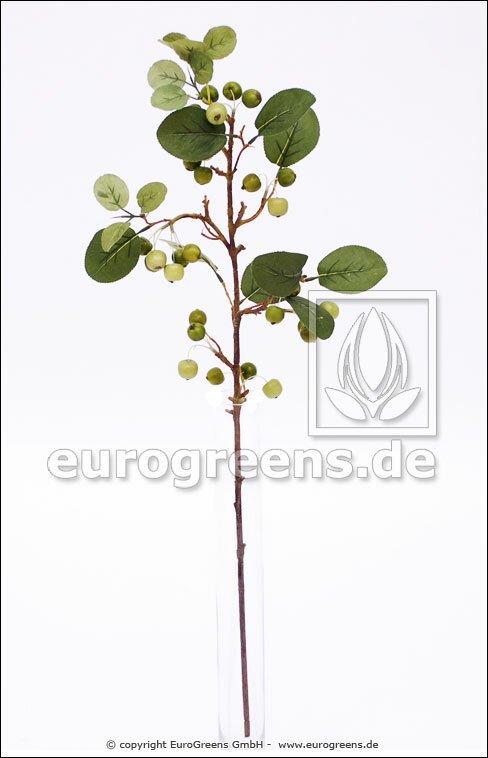 Umelá vetva Jablkovník 80 cm