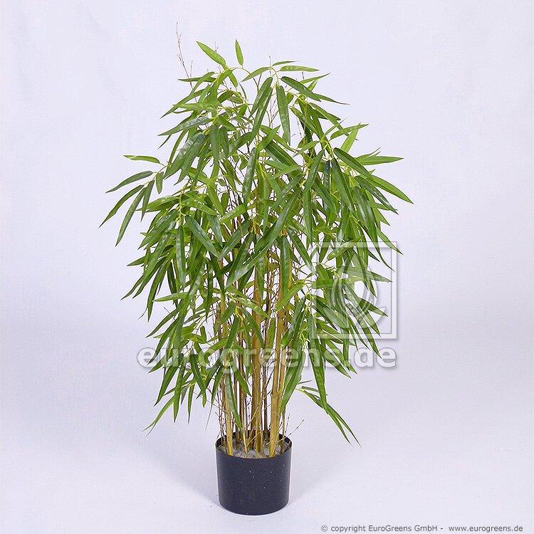 Umělá rostlina Čínský Bambus přírodní kmen 90 cm