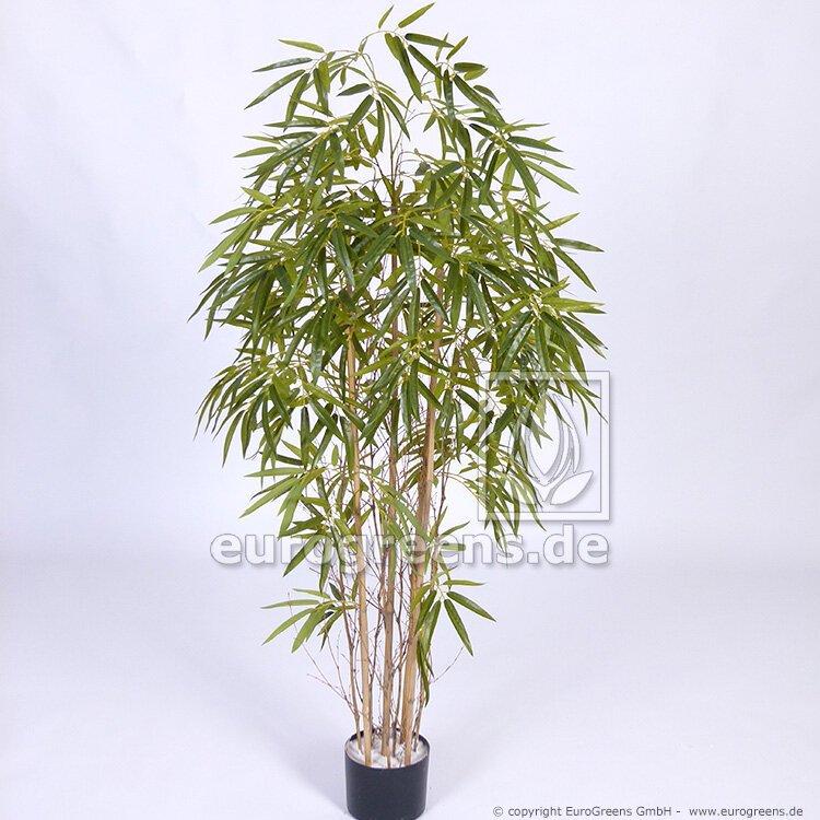 Umelá rastlina Čínsky Bambus prírodný kmeň 150 cm