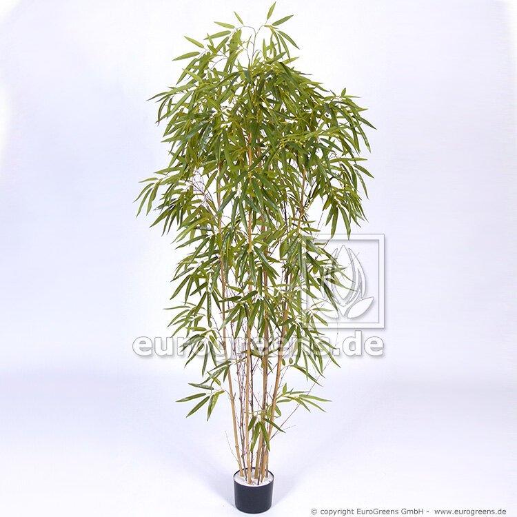 Umělá rostlina Čínský Bambus přírodní kmen 180 cm