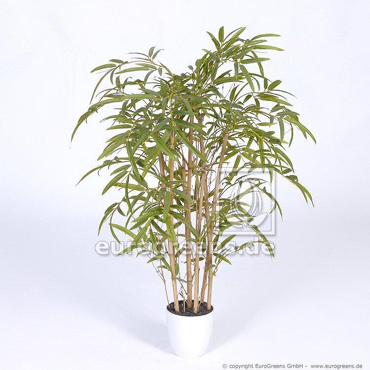 Umělá bambusová rostlina, přírodní kmen 90 cm