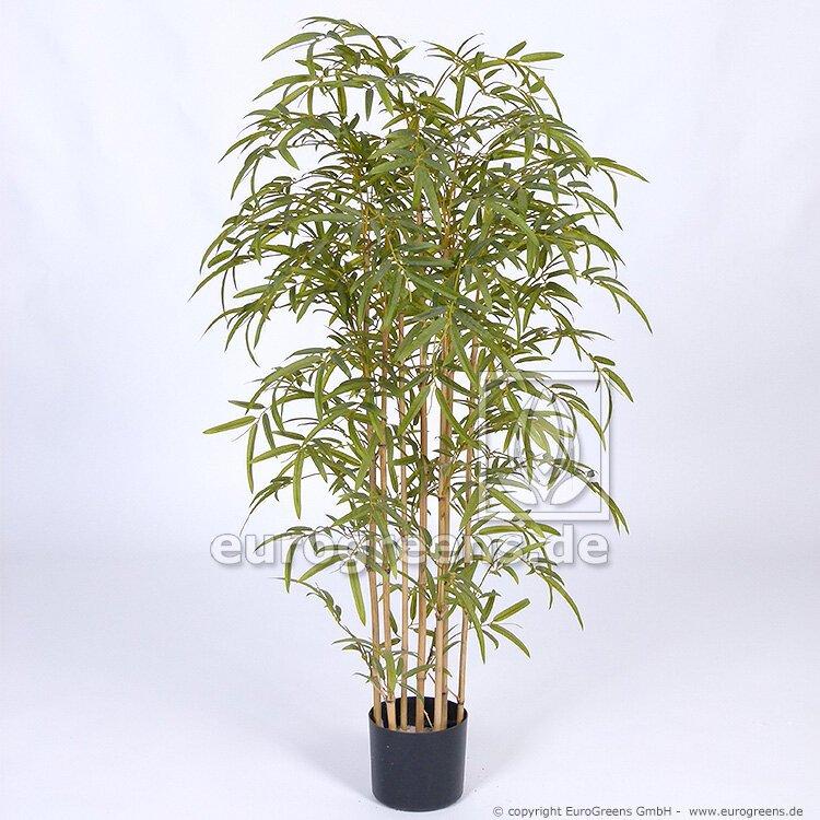Umelá rastlina Japonský Bambus prírodný kmeň 120 cm