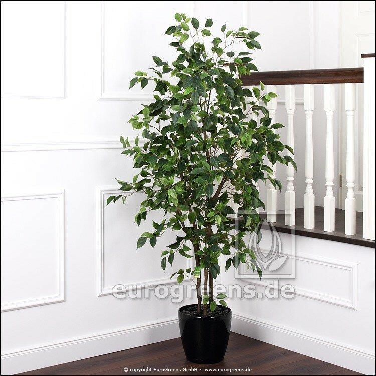 Umělý Ficus Benjamina De Luxe 160 cm