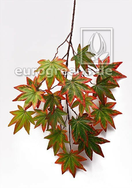 Umělá větev Javor podzimní 80 cm