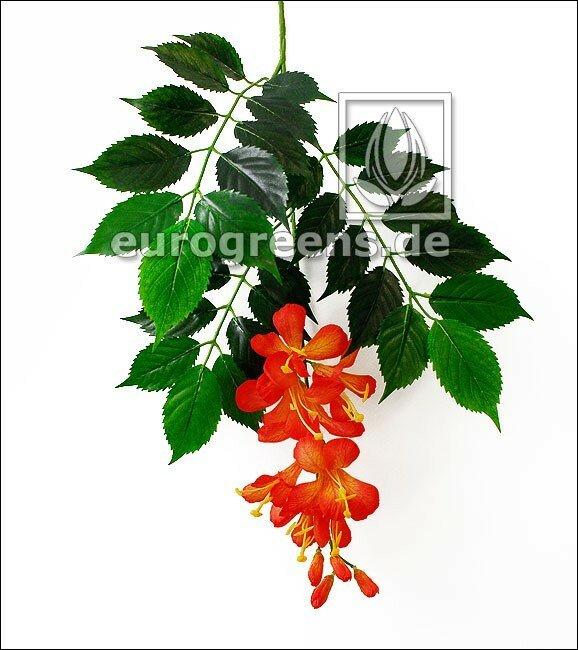 Umělé větve s květy - Campsis radicans