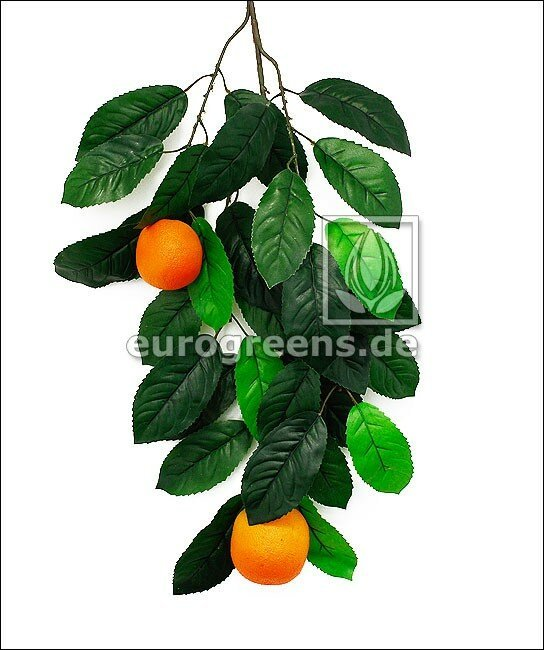 Umělá větev Pomeranč s plody