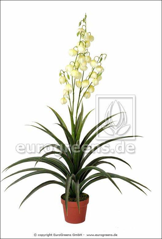 Umělá rostlina Lilie palmová 125 cm
