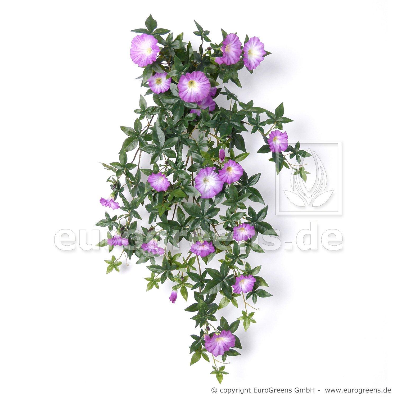 Umělá fialová rostlina - úponky Petunie 70-75 cm