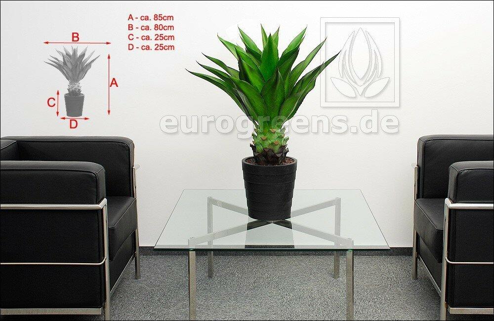 Umělá rostlina Agáve Mexicana 85 cm