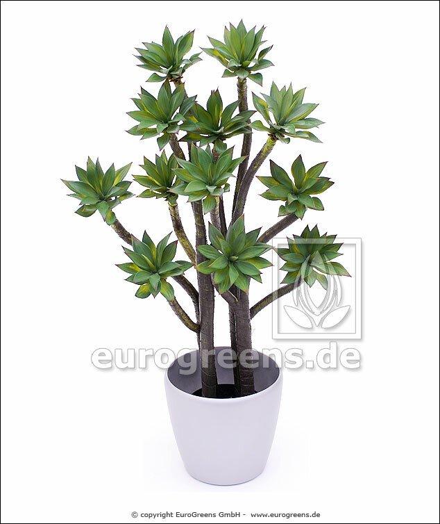 Umelá rastlina Lotus Agáve 90 cm
