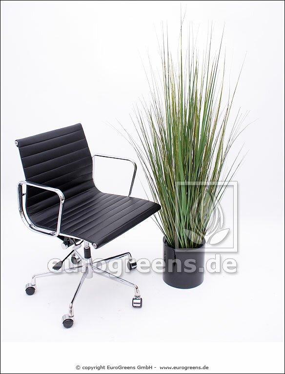 Umělá tráva v květináči 150 cm