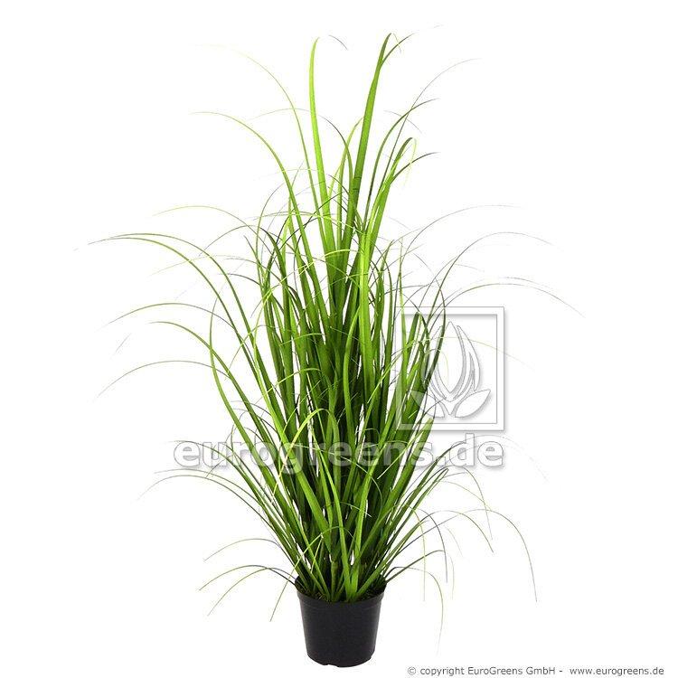 Umělý svazek trávy Miskant obrovský v květináči 75 cm