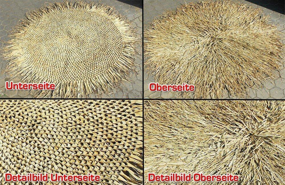 Střešní panel sušené palmové listy 210 cm