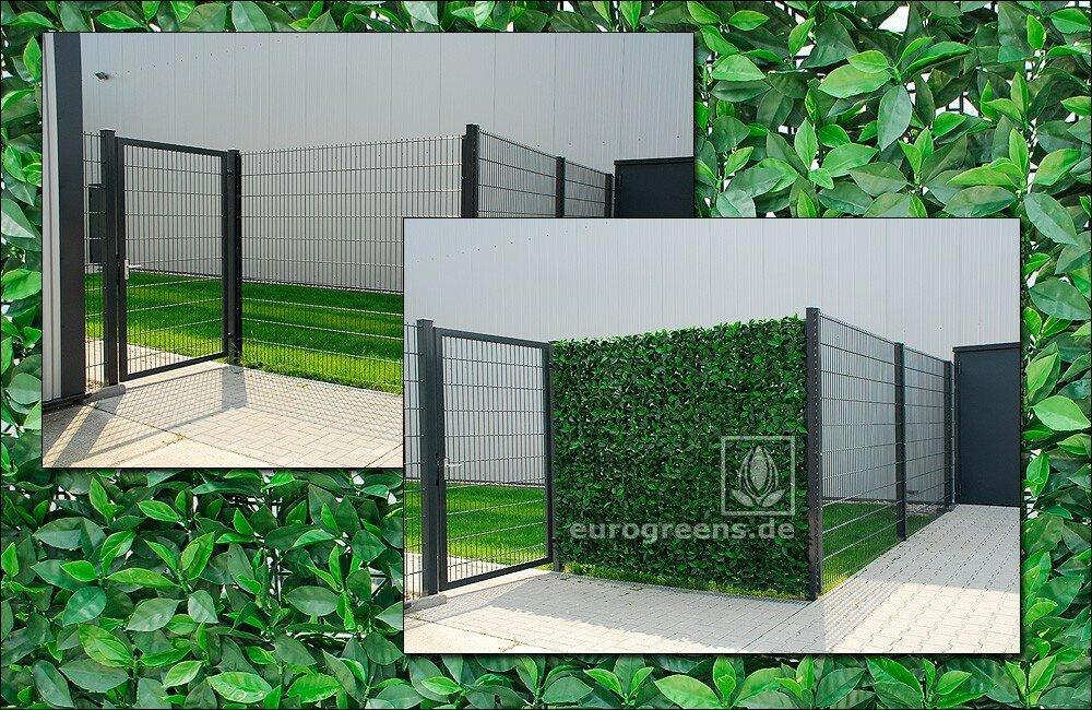 Umělý živý plot Višeň 50 x 50 cm