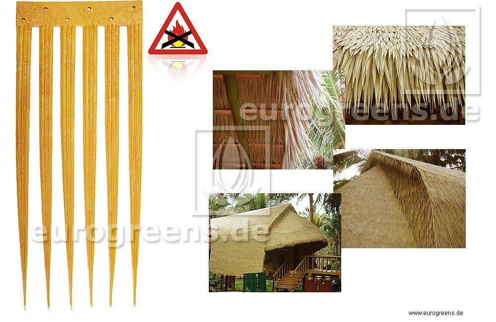 Plastový střešní palmový panel 11 cm x 27 cm