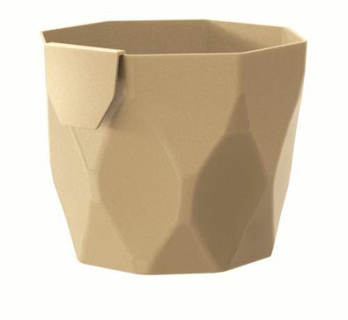 Květináč ROCKA káva s mlékem 14,0 cm