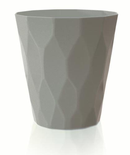 Květináč ROCKA šedý kámen 17,0 cm