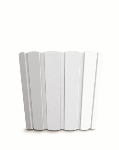 Květináč BOARDEE BASIC bílý 19,9cm