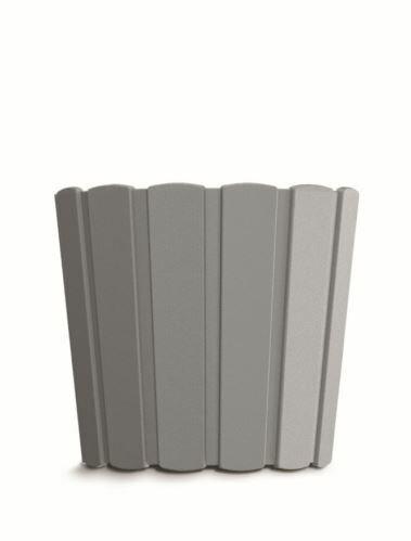 Květináč BOARDEE BASIC šedý kámen 28,5cm