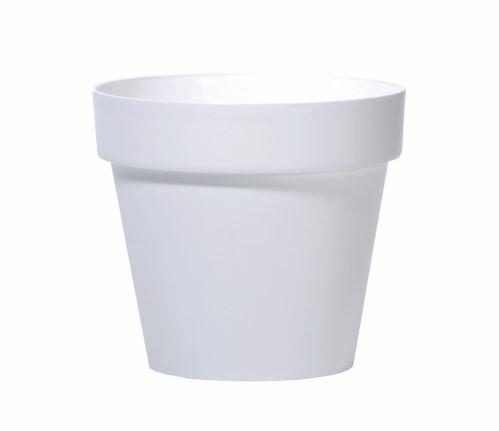 Květináč CUBE bílý 40cm