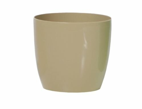 Květináč COUBI kulatý káva s mlékem 9cm