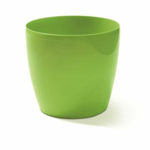 Květináč COUBI kulatý zelený 9cm