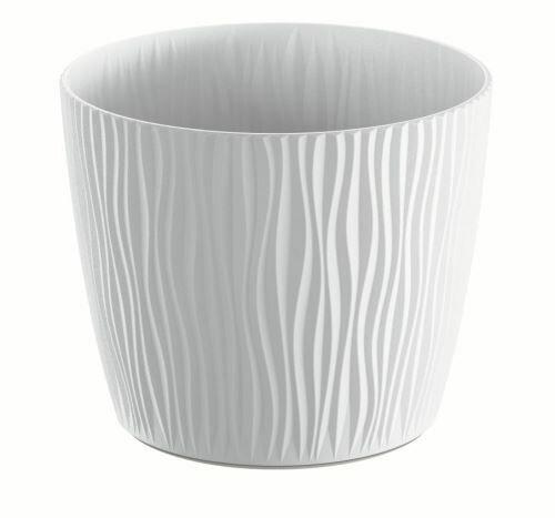 Květináč SANDY bílý 28,2 cm