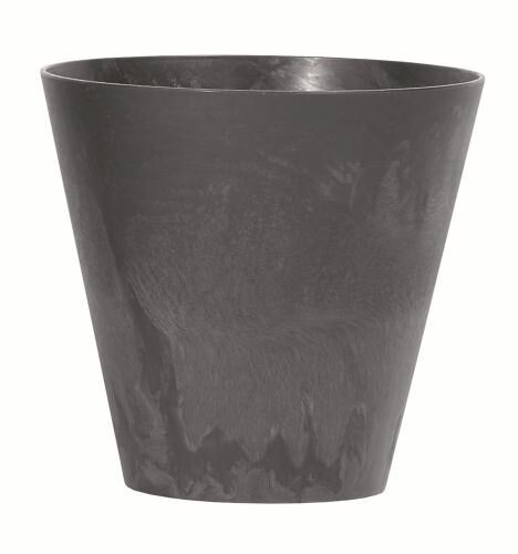 Květináč TUBUS EFFECT antracit 25 cm