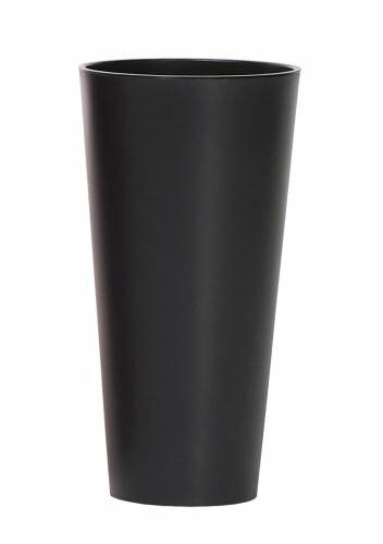 Květináč TUBUS SLIM + vklad antracit mat 25cm