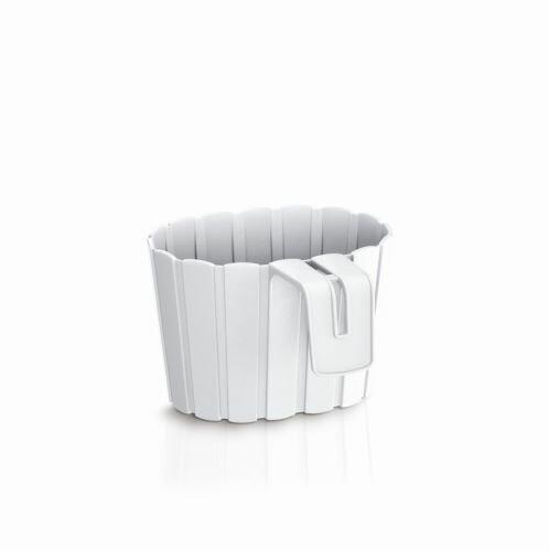 Květináč závěsný BOARDEE HOOK bílý 19,4cm